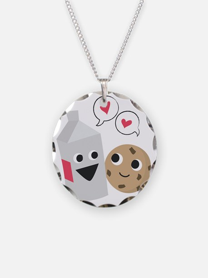 Milk  Cookie Love Necklace