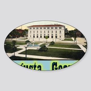augusta Sticker (Oval)