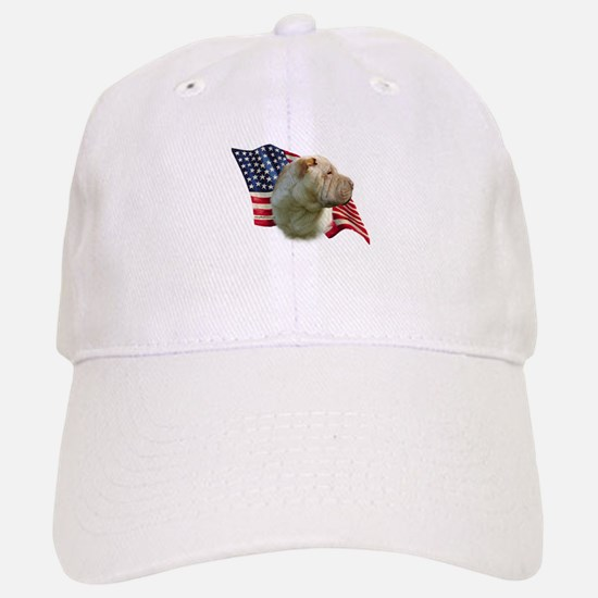 Shar-Pei Flag Baseball Baseball Cap