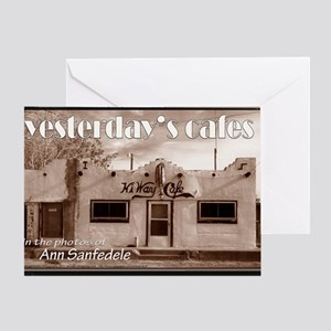 yesterdasycafesBESTsmallcover Greeting Card
