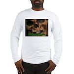 Skull Front Long Sleeve T-Shirt