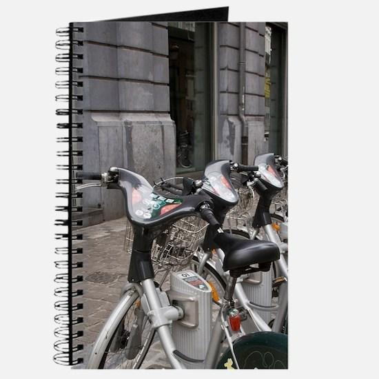 Belgium, Brussels, bicycles. Journal