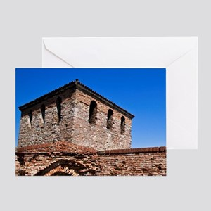 A tour of Baba Vida Fortress Greeting Card
