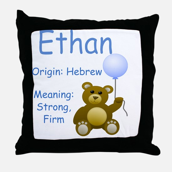 bname10 Throw Pillow