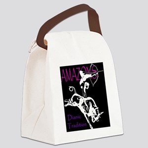 dianiclogo2 Canvas Lunch Bag