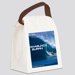 Calender Surfing 4 Canvas Lunch Bag