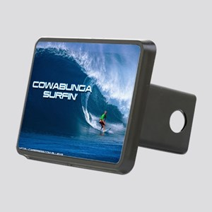Calender Surfing 4 Rectangular Hitch Cover