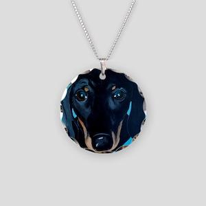_MG_dog2b Necklace Circle Charm