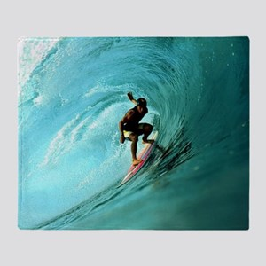 Calender Surfing 2 Throw Blanket