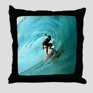 Calender Surfing 2 Throw Pillow