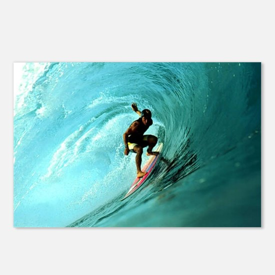 Calender Surfing 2 Postcards (Package of 8)
