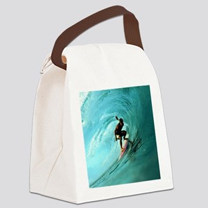 Calender Surfing 2 Canvas Lunch Bag