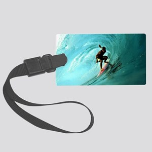 Calender Surfing 2 Large Luggage Tag