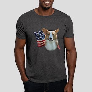 Corgi Flag Dark T-Shirt