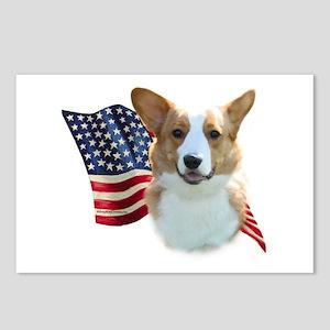 Corgi Flag Postcards (Package of 8)