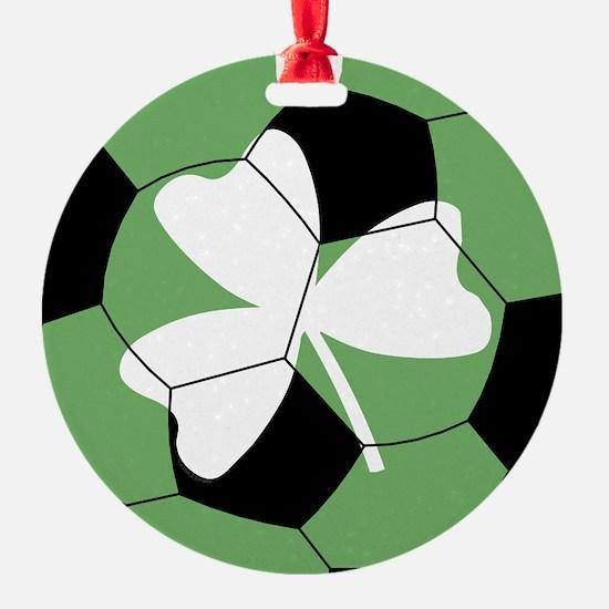 Soccer Shamrock Ornament