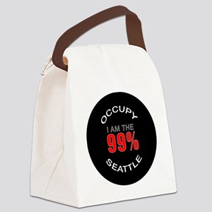 occupy-seattle Canvas Lunch Bag