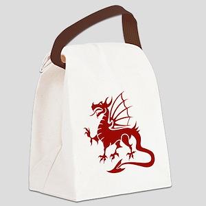 dragonA3 Canvas Lunch Bag