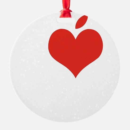 i love steve Ornament