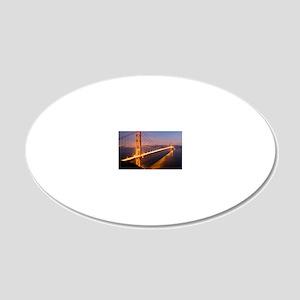 9x12_FramedPanelPrint_nightG 20x12 Oval Wall Decal
