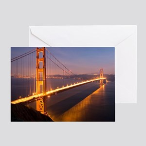 9x12_FramedPanelPrint_nightGGB1229 Greeting Card