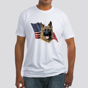 GSD Flag Fitted T-Shirt