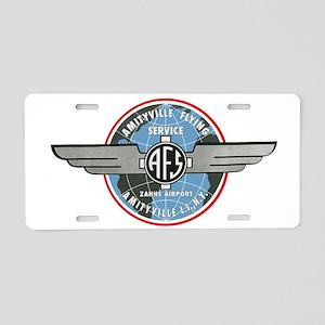 afslogo_mug Aluminum License Plate