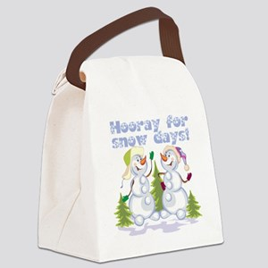 888473666652snowdays Canvas Lunch Bag