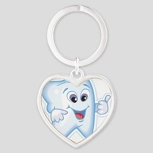 6674200777255thumbsup Heart Keychain