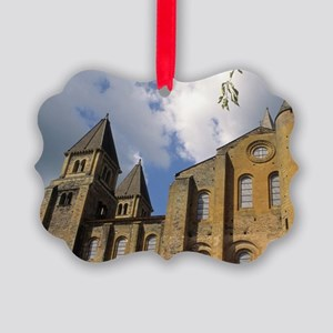 France: Conques, Benedictine Abbe Picture Ornament