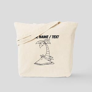 Custom Palm Tree Tote Bag