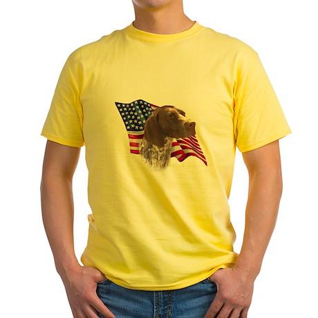GSP Flag Yellow T-Shirt