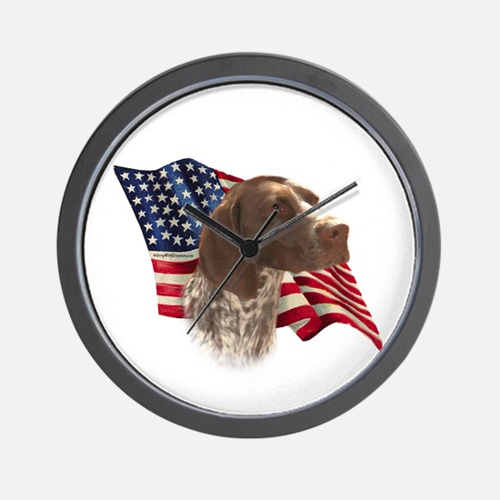 GSP Flag Wall Clock
