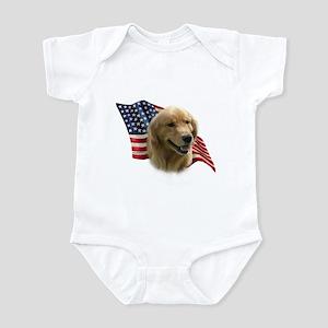 Golden Flag Infant Bodysuit