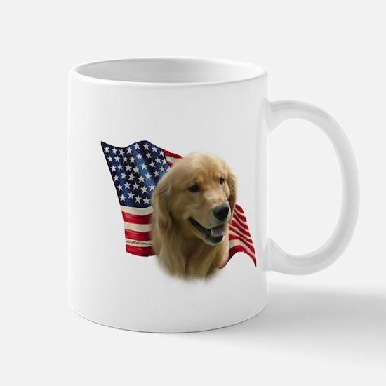 Golden Flag Mug