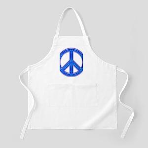 peaceGlowBlue Apron
