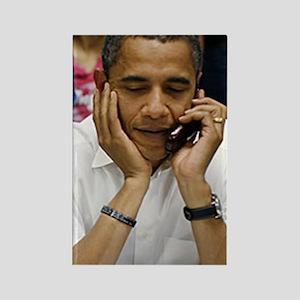 ART Obama iphone slider 4 case v1 Rectangle Magnet