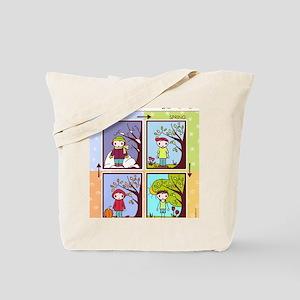 seasons chart Tote Bag