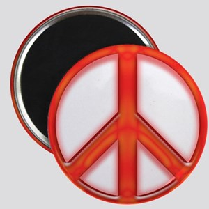 peaceGlowRed Magnet