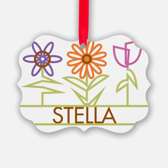 STELLA-cute-flowers Ornament