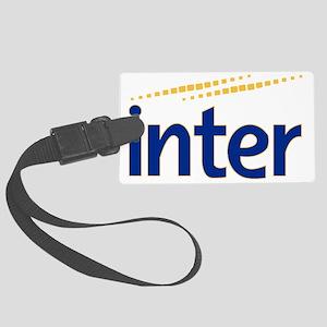 inter Large Luggage Tag