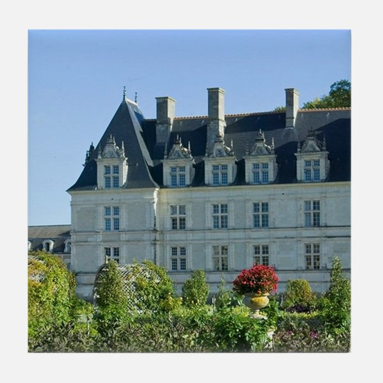 Garden at the Chateau of Villandry in Tile Coaster