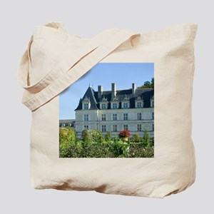 Garden at the Chateau of Villandry in aut Tote Bag