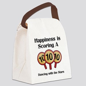 Happiness10 Canvas Lunch Bag