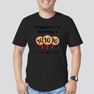Happiness10 Men's Fitted T-Shirt (dark)