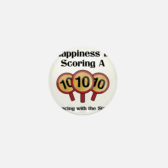 Happiness10 Mini Button