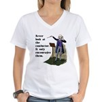 Conductor Women's V-Neck T-Shirt