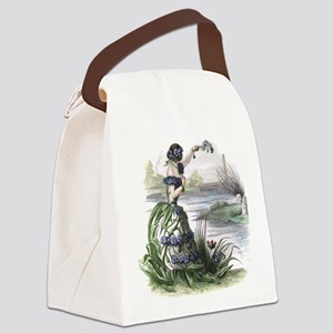Forget-me-not Canvas Lunch Bag