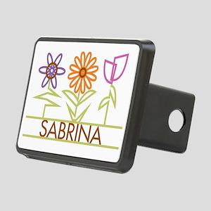 SABRINA-cute-flowers Rectangular Hitch Cover