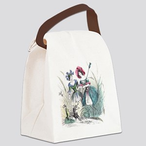 Cornflower and Bluebottle Canvas Lunch Bag